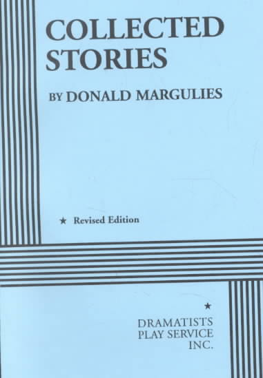 Collected Stories By Margulies, Donald