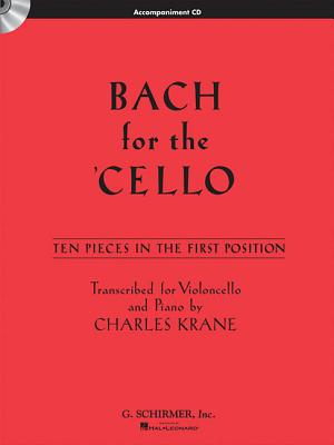 Bach for the Cello By Bach, Johann Sebastian (COP)/ Krane, Charles (EDT)